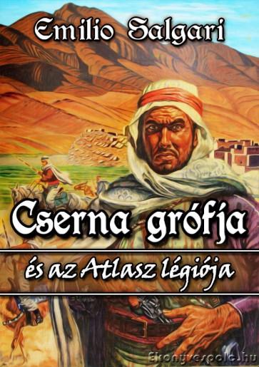 Emilio Salgari: Cserna grófja és az Atlasz légiója - letölthető kalandregény e-könyv