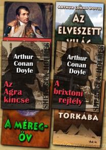 Arthur Conan Doyle könyvcsomag - letölthető akciós e-könyv csomag