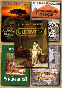 H. Rider Haggard könyvcsomag - letölthető akciós e-könyv csomag