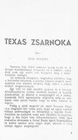 Texas zsarnoka 2 k