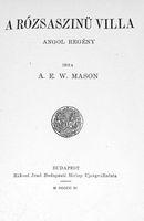 A rózsaszinü villa (könyv)