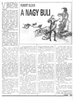 Robert Bloch: A nagy buli