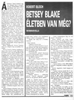 Robert Bloch: Betsy Blake életben van még