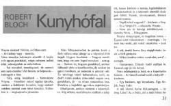 Robert Bloch: Kunyhófal