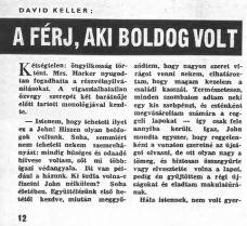 David H. Keller: A férj, aki boldog volt