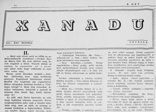 Xanadu (A Hét) k
