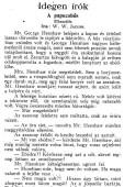 W. W. Jacobs: A papucshős