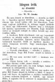 W. W. Jacobs: Az álomlátó