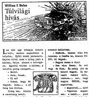 William F. Nolan: Túlvilági hívás