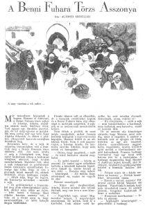 Achmed Abdullah: A Benni Fuhara Törzs Asszonya