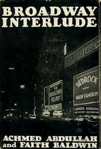 Achmed Abdullah: Broadway Interlude
