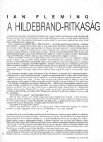 Ian Fleming: The Hildebrand-ritkaság