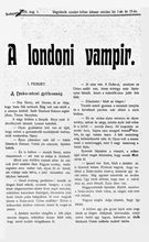 A londoni vampir k