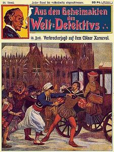 Verbrecherjagd auf dem Cölner Karneval