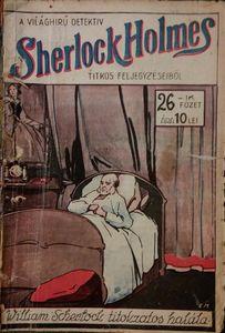 William Sherlock titokzatos halála k