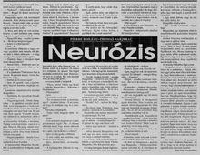 Neurózis k
