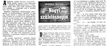 Fredric Brown: Nagyi születésnapja