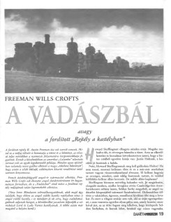 Freeman Wills Crofts: A vadászbál