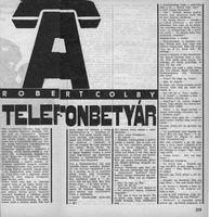 Telefonbetyár k