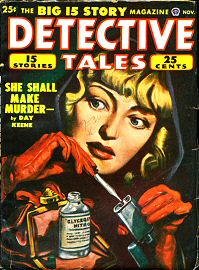 Day Keene: She Shall Make Murder - The Big 15 Story Magazine - Detective Tales