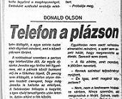 Donald Olson: Telefon a plázson