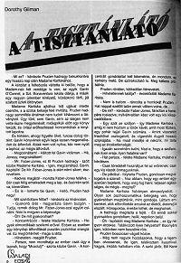 Dorothy Gilman: A tisztánlátó
