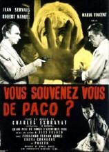 Charles Exbrayat: Vous souvenez vous de Paco Film