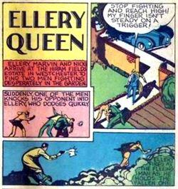 Ellery Queen's képregény