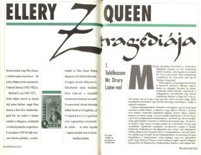Ellery Queen: Z tragédiája
