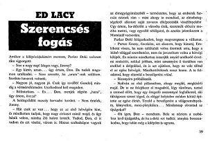 Szerencsés fogás - Ed Lacy