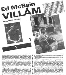 Ed McBain: Villám