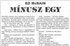 Evan Hunter: Mínusz egy