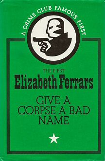Elizabeth Ferrars: The Casebook of Jonas P. Jonas and Other Mysteries