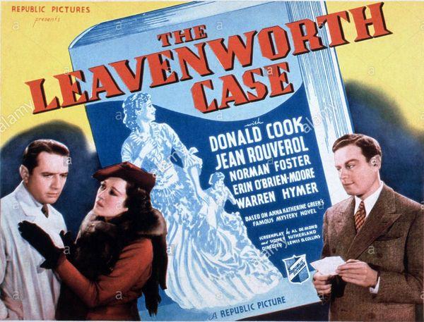 The Leavenworth Case (film 1936)