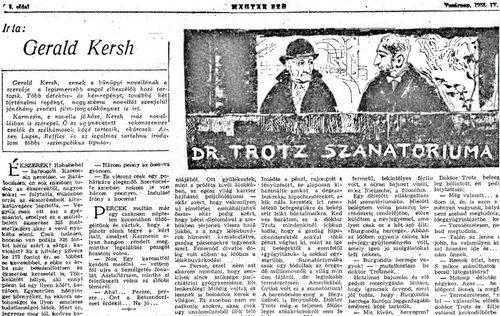 Dr. Trotz szanatóriuma k