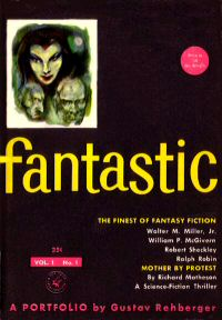 Fantastic magazine, William P. McGivern