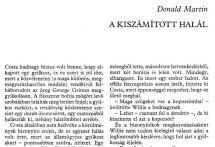 Donald Honig: A kiszámított halál