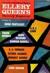 Ellery Queens Mystery Magazine 1960