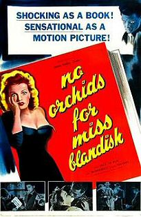 No Orchids for Miss Blandish - filmplakát