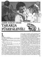 James Hadley Chase: Takarja fügefalevél