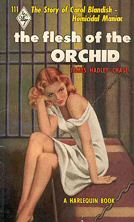 James Hadley Chase: The Flesh of the Orchid - könyvborító
