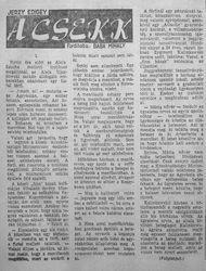 Jerzy Edigey - A csekk
