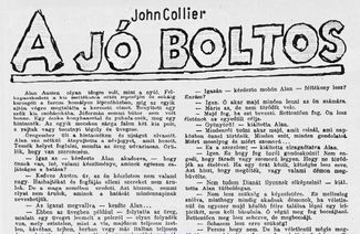 A jó boltos - John Collier-tmb