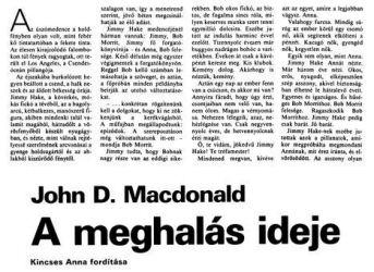 John D. MacDonald: A meghalás ideje