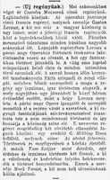 Az operaház fantómja - Budapesti Hírlap ajánló k
