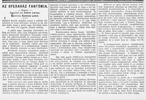 Az operaház fantómja - Budapesti Hírlap k