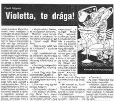 Violetta, te drága! k