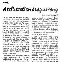 Al Nussbaum: A telhetetlen öregasszony