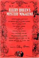 Ellery Quuen's Mystery Magazine 1957