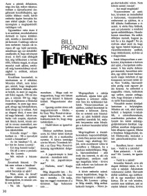 Bill Pronzini: Tettenérés